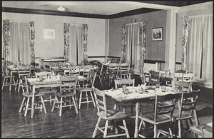 Howard Seminary for Women Drury Hall dining room