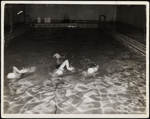 Howard Seminary for Women - Girls swimming at YMCA Brockton