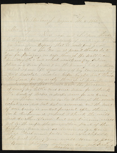 Letter from Michael Lally to his wife and children, May 8, 1862