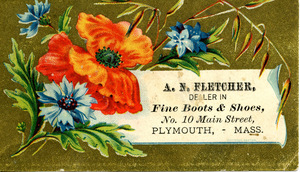 A. N. Fletcher, dealer in fine boots & shoes