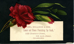 Geo. Milliken & Son, linens and house furnishing dry goods