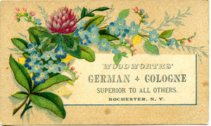Woodworths' German cologne, superior to all others