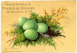 Horace Waters & Co., pianos & organs