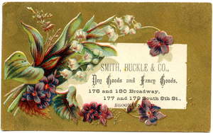 Smith, Buckle & Co., dry goods and fancy goods