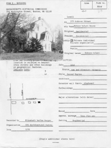 Andover Street (Belvidere) - Andover Street, 275 - Horace Coburn House