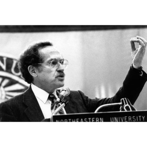 Alan Dershowitz speaks at 25th Anniversary Luncheon for College of Criminal Justice