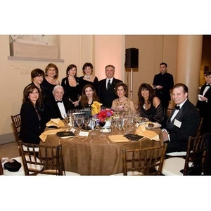 Eleven guests pose together at the inauguration celebration of President Aoun