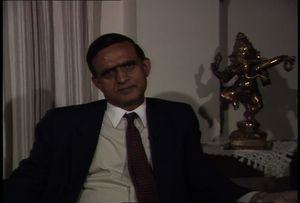 Interview with Muchkund Dubey, 1987