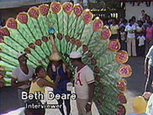 Scenes from the 1980 St .Croix carnival