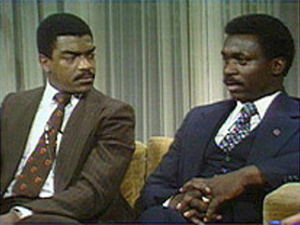 Ed Redd and Raymond Jordan debate why most African Americans are Democrats