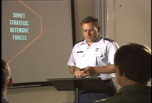 Air Force Class on Soviet Threat Awareness