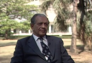 Interview with Homi Sethna, 1987