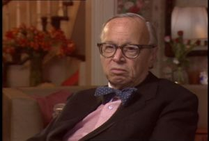 Interview with Arthur Schlesinger, 1986