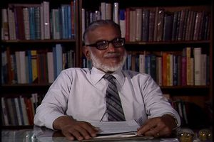 Interview with M. G. K. Menon, 1987