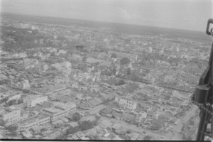 Aerial of Saigon.