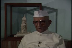 Interview with Morarji Desai, 1987