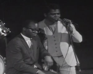 James Brown Speaks to the Crowd at the Boston Garden
