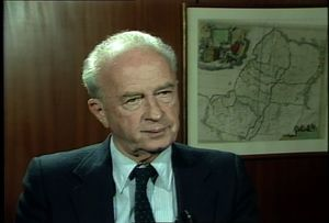Interview with Yitzhak Rabin, 1987