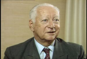 Interview with Pierre Messmer, 1986