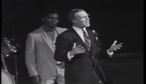 James Brown and Mayor Kevin White Address the Crowd at the Boston Garden