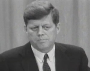 Boston Symphony Audience Learns of the Death of JFK