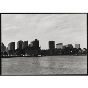 Another view of the Boston skyline from the inner harbor