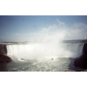 Horseshoe Falls, as seen from the Canadian side