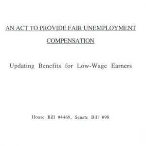 An act to provide fair unemployment compensation