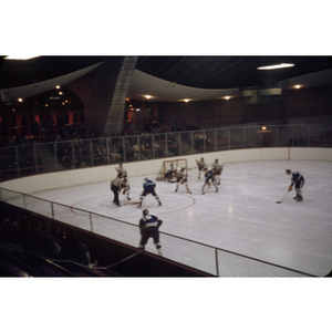 Hockey match versus Yale