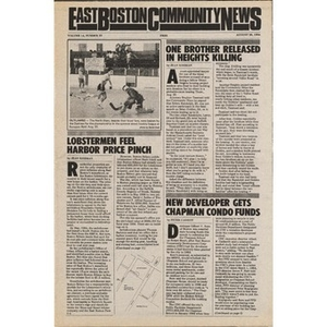 East Boston Community News. volume 14, number 23