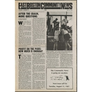 East Boston Community News. volume 17, number 19