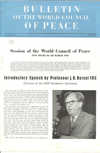 Bulletin of the World Peace Council, number 4