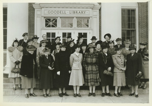Advisory Council of Women standing outdoors.