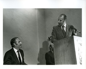 Basil Paterson and George McGovern