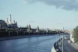 View of Kremlin and Moskva River