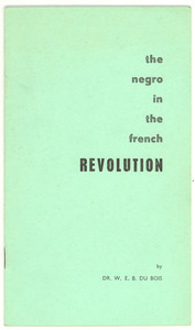 The Negro in the French revolution