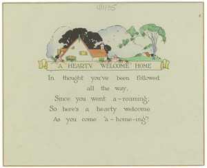 Card from Mrs. William O. Stokes to W. E. B. Du Bois