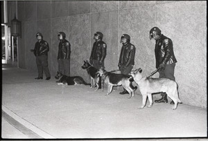 Spiro Agnew speech at the Middlesex Club: police security detail and dogs