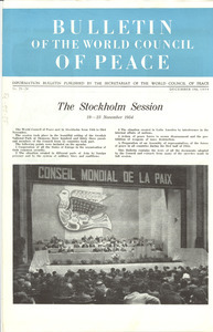 Bulletin of the World Council of Peace, numbers 23 and 24