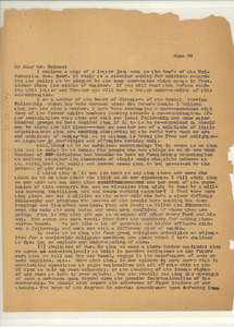Letter from unidentified correspondent to Leroy H. Godman