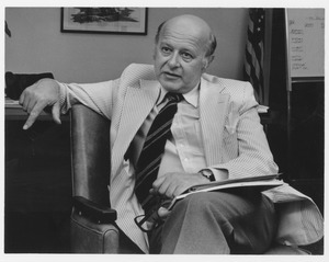 Henry Koffler in his office