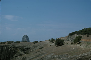 Atop the Thessaly cliffs