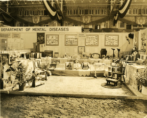 Department of Mental Diseases education exhibit booth