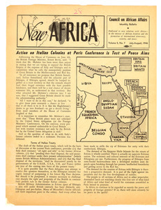 New Africa volume 5, number 7