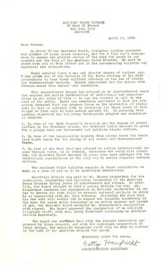 Circular letter from American Peace Crusade to W. E. B. Du Bois