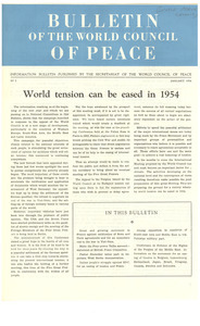 Bulletin of the World Council of Peace, number 5