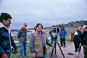 Paul Caponigro teaching a group of photography students