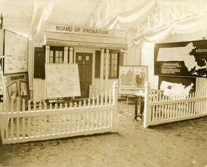 Board of Probation exhibit booth