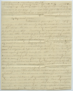 Letter from Emma Cunningham to Louisa Gass