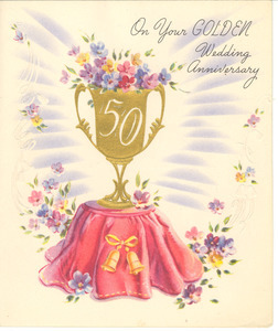 Anniversary card from Mr. & Mrs. R. Wellesley Bailey to Nina and W. E. B. Du Bois